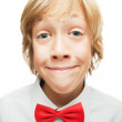 Smiling blonde boy — Stock Photo