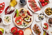 Tapas-collectie — Stockfoto