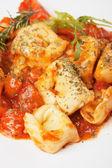 Italienische Tortellini Nudeln — Stockfoto