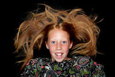 Red haired girl — Foto de Stock