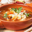 Minestrone soup — Stock Photo #6680580