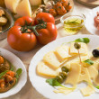 Italian appetizer food - Stock Photo