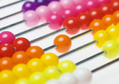 Abacus beads — Stock Photo