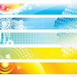 Web Banner - Stock Vector