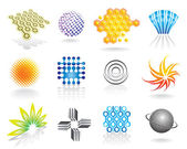Simboli grafici — Vettoriale Stock