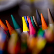 Colorful crayons — Stock Photo #5895733