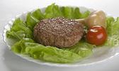 Meat rissole — Stock Photo