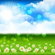 Nature Background - Stock vektor