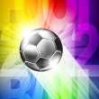 Royalty-Free Stock Vector Image: Vector soccer background