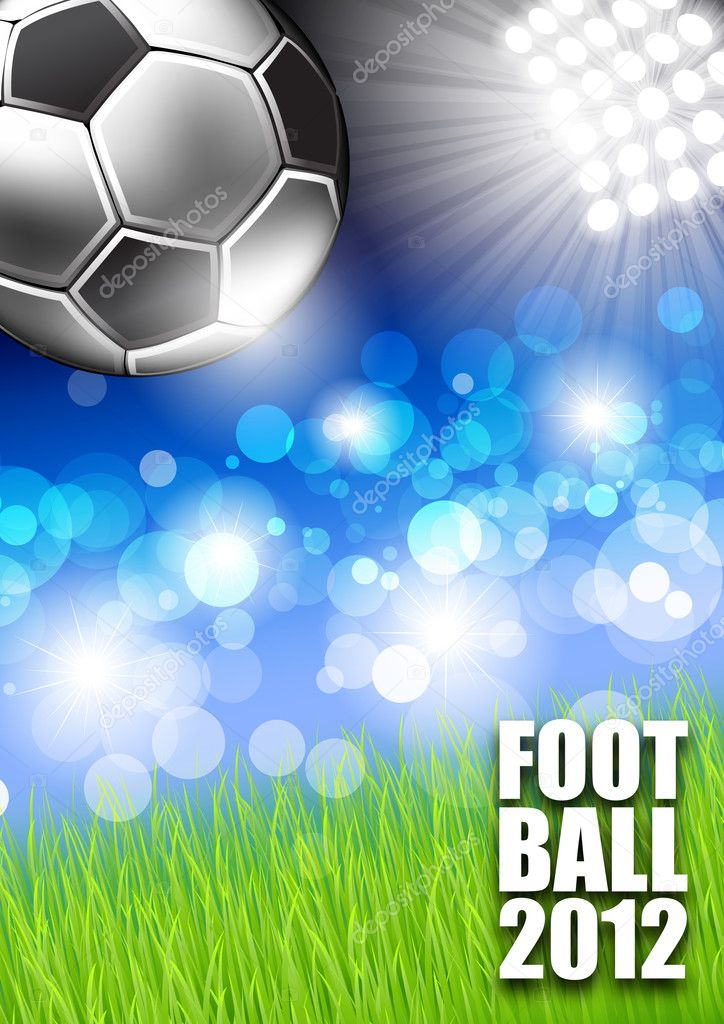 Vector football background   Stock Vector #6148274