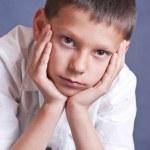 Young boy portrait — Stock Photo