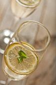 Citronovou mátou koktejl — Stock fotografie