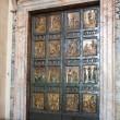 St. Peter's basilica. An anniversary gate — Stock Photo #5448316