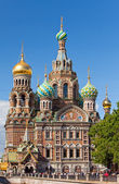 St.Petersburg, Russia.Spas-na-krovi cathedral — Stock Photo