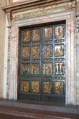 St. Peter's basilica. An anniversary gate — Stock Photo