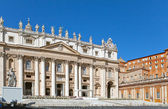 Vatican. St. Peter's cathedral — Stock Photo