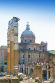 Italy. Rome. Ruins of an antique temple of Venus — Stock Photo