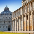 The Baptistry in Cathedral Square in Pisa, Italy. — Stock Photo #5476883