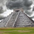Kukulkan Pyramid in Chichen Itza on the Yucatan — Stock Photo