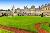 法国。公园和枫丹白露宫 — 图库照片