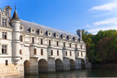 Castle of a valley of the river Loire. France. Chateau de Chenonceau — Stock Photo