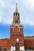 Spasskaya Tower of Moscow Kremlin, Russia. — Stock Photo
