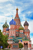 Vasilij cattedrale di blazhennogo. mosca. russia. — Foto Stock