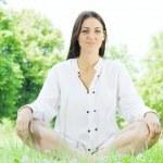 Yoga woman — Stock Photo #5749198