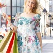 Attractive shopping woman — Stock Photo #5799493
