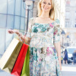 Attractive shopping girl — Stock Photo #5799592