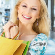 Beautiful shopping woman — Stock Photo #5800062