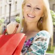 Happy shopping woman — Stock Photo #5800197