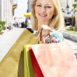 Royalty-Free Stock Photo: Beautiful shopping girl