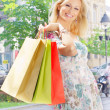 Attractive shopping woman — Stock Photo #5800461
