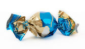 Candy in sweet wrapper — Stock Photo