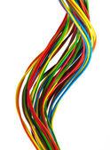 Bundle of color cables — Stock Photo