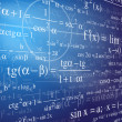 Mathematics background — Vettoriali Stock