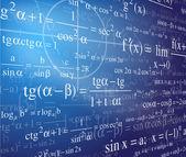 Mathematics background — Stock Vector