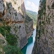 Mont-rebei gorge in Catalonia, Spain — Stock Photo