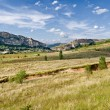 Prairie in La Noguera, Catalonia, spain — Stock Photo