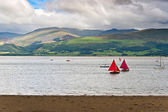 Sailboats in Anglesey, Wales — Stock Photo