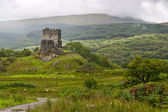 Dolwyddelan castle in Snowdonia, wales — Stock Photo