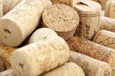 Wine corks good for background — Stock Photo