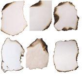 Papel queimado — Foto Stock