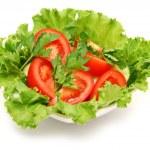 Fresh salad — Stock Photo #5545254