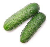 Two cucumbers — Stock Photo