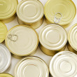 Tin cans — Stockfoto