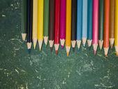 Colour pencils — Stok fotoğraf