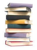 Books on white — Stock Photo