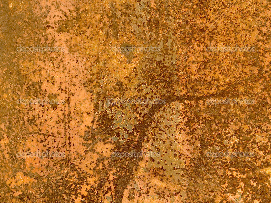 Texture of rusty metal for a background — Stock Photo #6340418